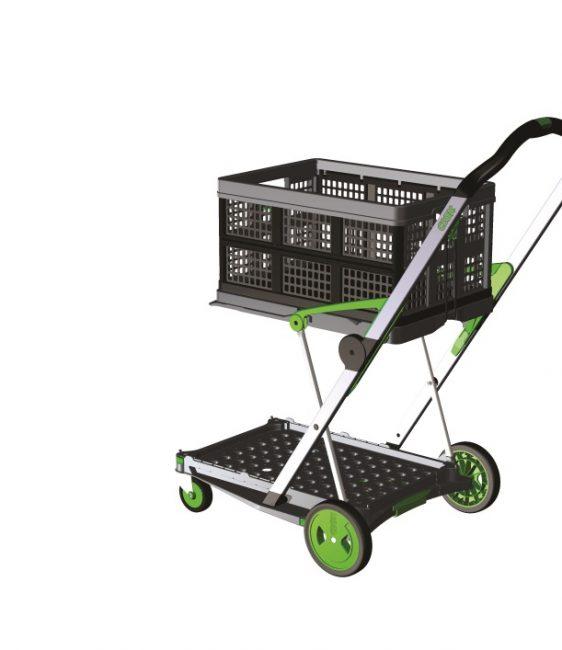 Chariot repliable 2 niveaux