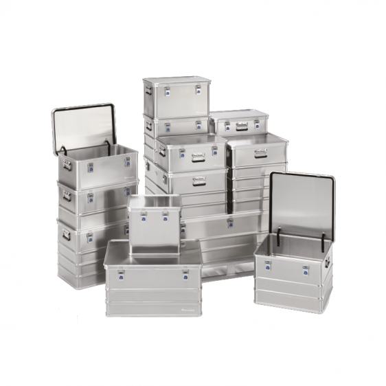 Caisses premium aluminium