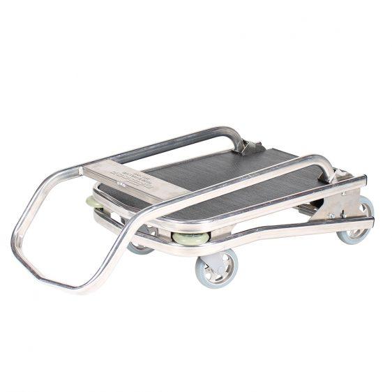 Chariot plateforme aluminium